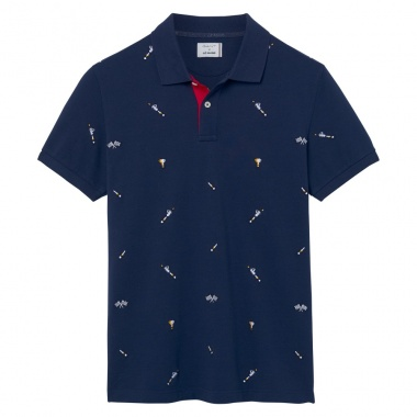 Polo Estampado Le Mans