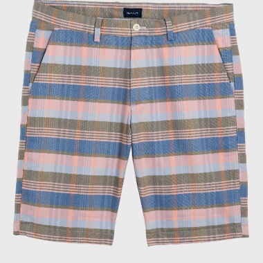 Bermudas Stripe-Check