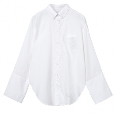 Camisa larga Oxford