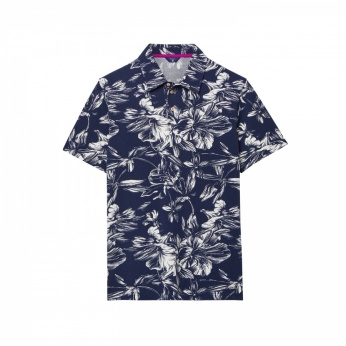 Polo estampado floral