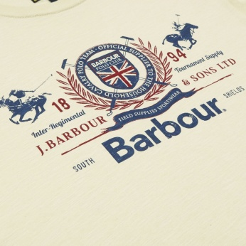 Camiseta Finish Line estampada Barbour imagen 5