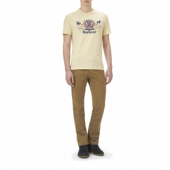 Camiseta Finish Line estampada Barbour imagen 4