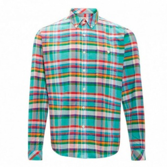 Camisa Net button down Barbour imagen 5