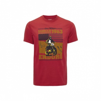 Camiseta Open Road estampada Barbour imagen 2