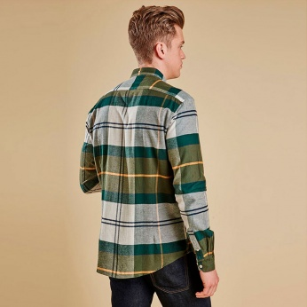 Camisa Heritage Johnny Button down Barbour imagen 2