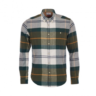 Camisa Heritage Johnny Button down Barbour imagen 4