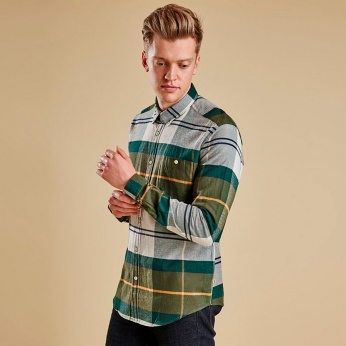Camisa Heritage Johnny Button down Barbour imagen 1