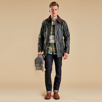 Camisa Heritage Johnny Button down Barbour imagen 3