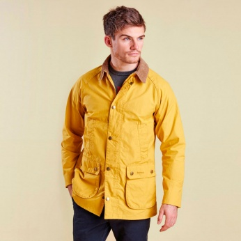 Chaqueta Washed Bedal Yellow