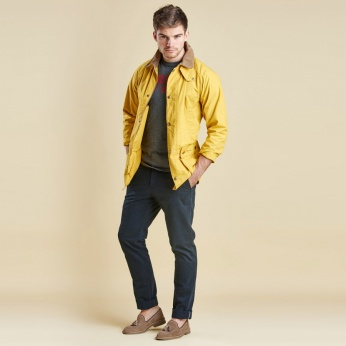 Chaqueta Washed Bedal Yellow Barbour imagen 3