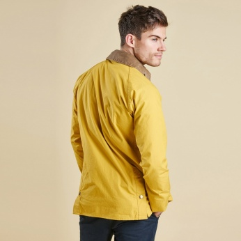 Chaqueta Washed Bedal Yellow Barbour imagen 4