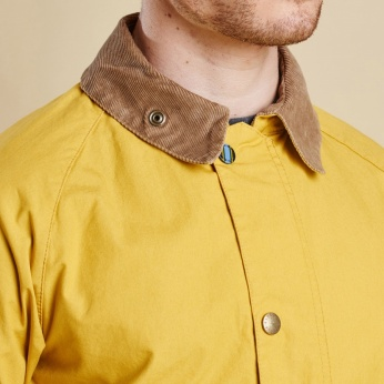 Chaqueta Washed Bedal Yellow Barbour imagen 5