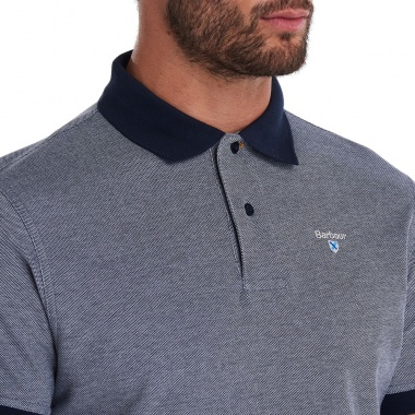 Polo Sports azul medianoche Barbour imagen 4