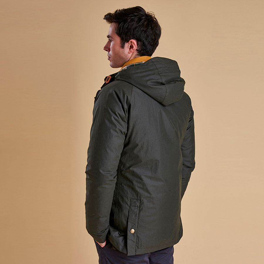 Chaqueta Hooded Impermeable