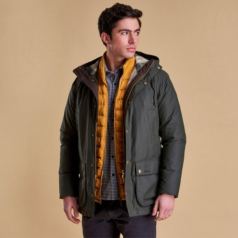 Chaqueta Hooded Impermeable Barbour imagen 3