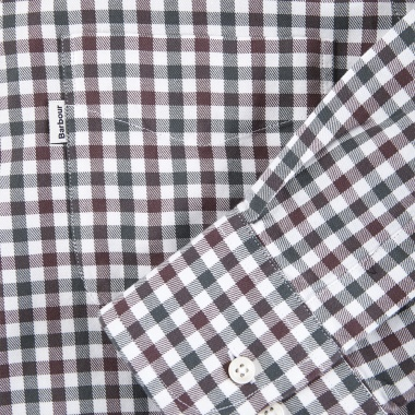 Camisa Estampada Button Down Barbour imagen 4