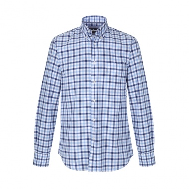 Camisa Estampada Button Down