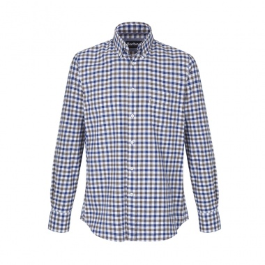 Camisa Estampada Button Down Barbour imagen 1