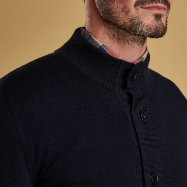 Jersey Huntly Button Barbour imagen 2