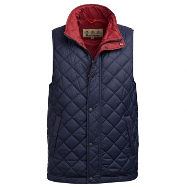 Chaleco Ampleforth marino Barbour imagen 1