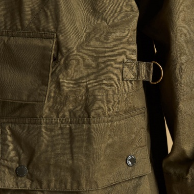 Chaqueta Warby Casual oliva Barbour imagen 3
