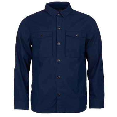 Sobre camisa Azul Thermo Forest Barbour imagen 1