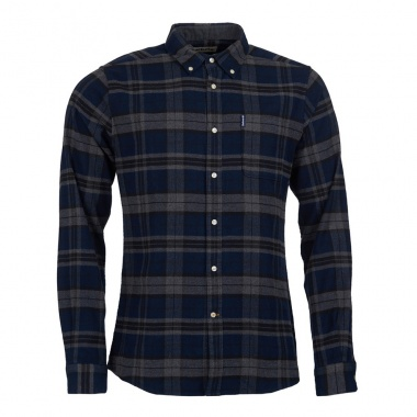 Camisa Highland Check 19 Tailored gris Barbour imagen 2