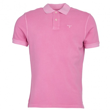 Polo Washed Sport rosa Barbour imagen 4