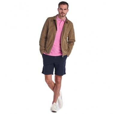 Polo Washed Sport rosa Barbour imagen 2
