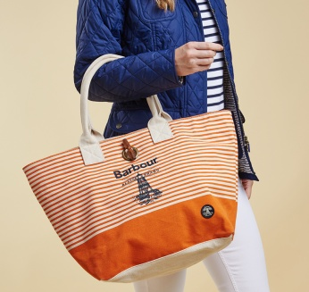 Bolse Beacon con logo Barbour imagen 5
