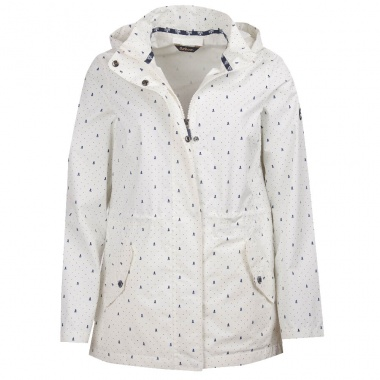 Chaqueta Windbreaker blanco