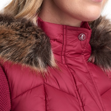 Chaleco Rojo Downhall Barbour imagen 2