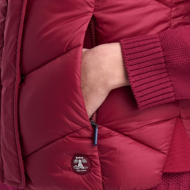 Chaleco Rojo Downhall Barbour imagen 3