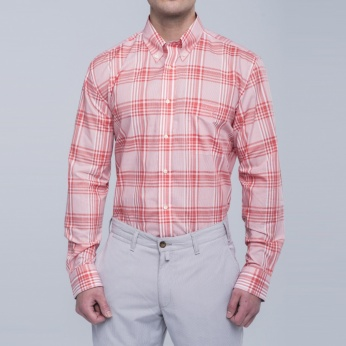 Camisa Henry cuadros fit regular button down Barbour imagen 1