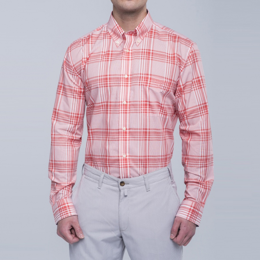 Camisa Henry cuadros fit regular button down