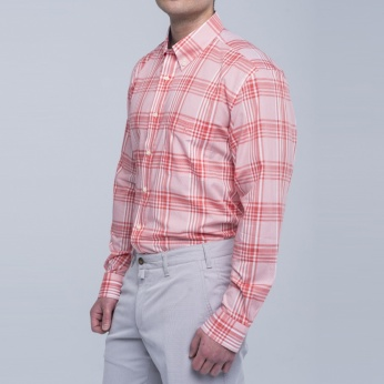 Camisa Henry cuadros fit regular button down Barbour imagen 3