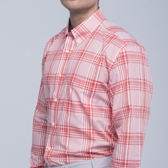 Camisa Henry cuadros fit regular button down Barbour imagen 5