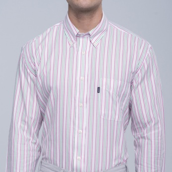 Camisa Sporting rayas button down Barbour imagen 4
