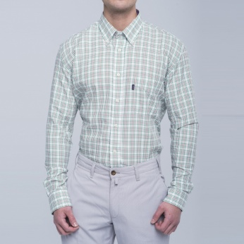 Camisa Sporting cuadros fit regular