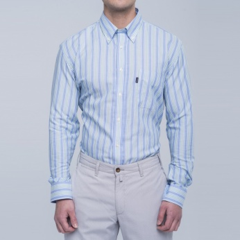 Camisa Sporting rayas Barbour imagen 1