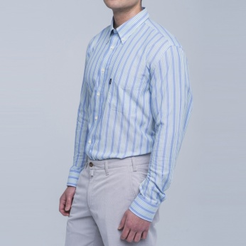 Camisa Sporting rayas Barbour imagen 3