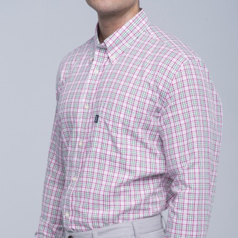 Camisa Tom cuadros button down Barbour imagen 5
