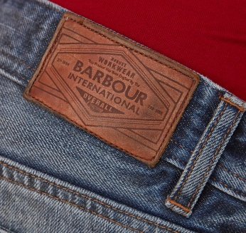 Lightening Slim Selvedge Barbour imagen 9