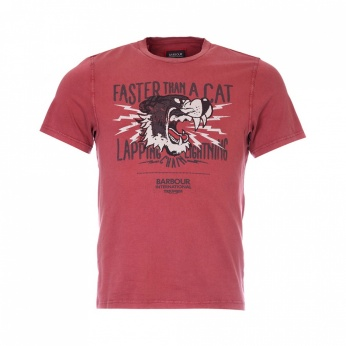 Camiseta Lapping estampada