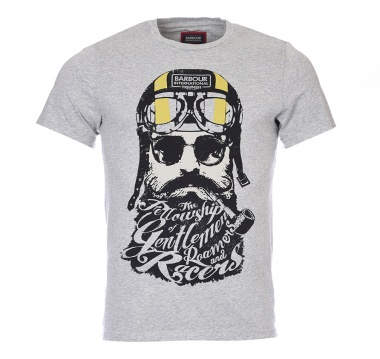 Camiseta Gentlemen estampada