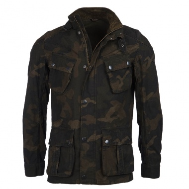 Chaqueta Washed Camo