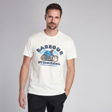 Camiseta Device blanco azul