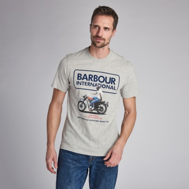 Camiseta SMQ Relaxed gris