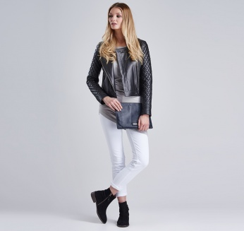 Top Leaf Grey Barbour imagen 2