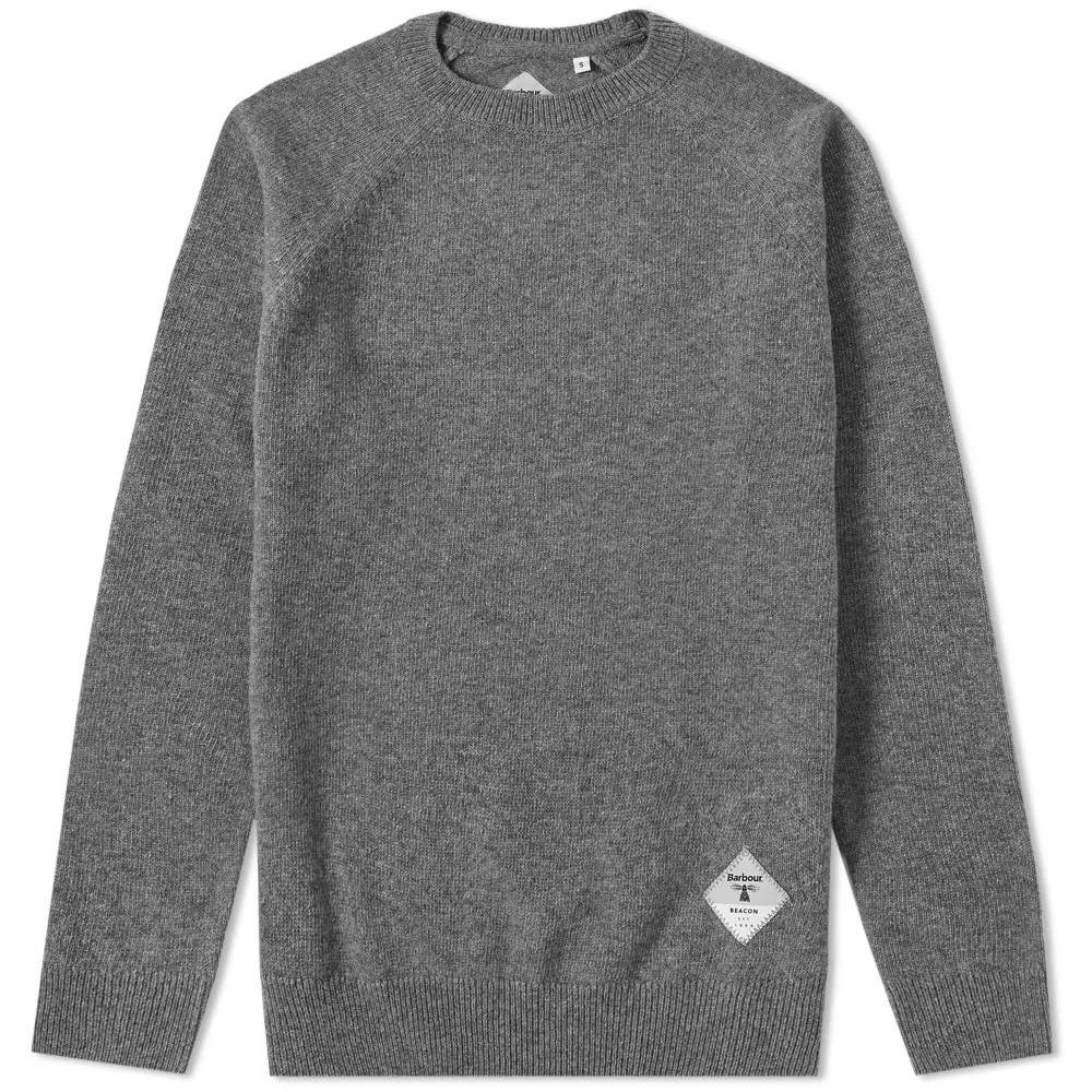 Jersey Lambswool gris